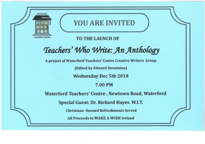 Anthology Invitation